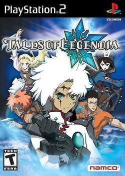 Tales of Legendia cover art