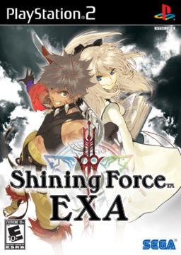 Shining Force EXA cover art