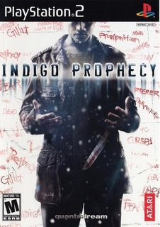 Indigo Prophecy Cover Art