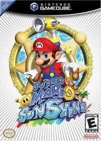 Super Mario Sunshine cover art