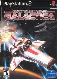 Battlestar Galactica cover art.