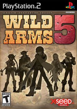 Wild Arms 5 cover art