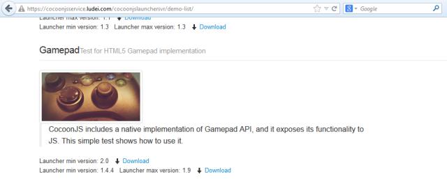 Locate_Gamepad_Demo