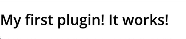 WordPress Plugin Result