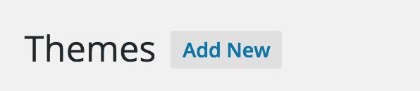 Theme: Add New
