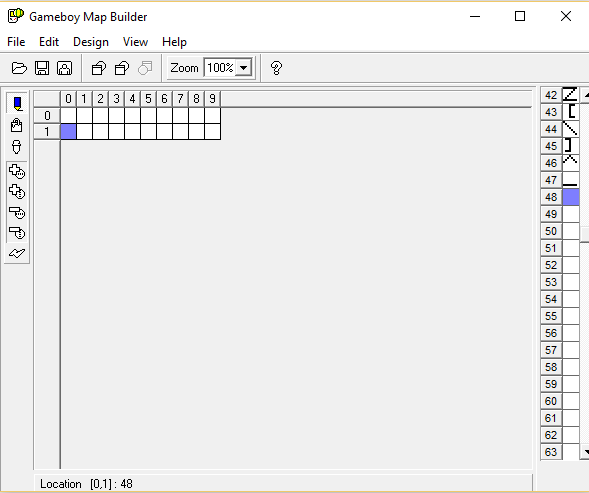 Using tile 48 as a 'blank' tile