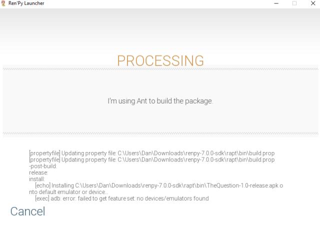 Adb Install Failed