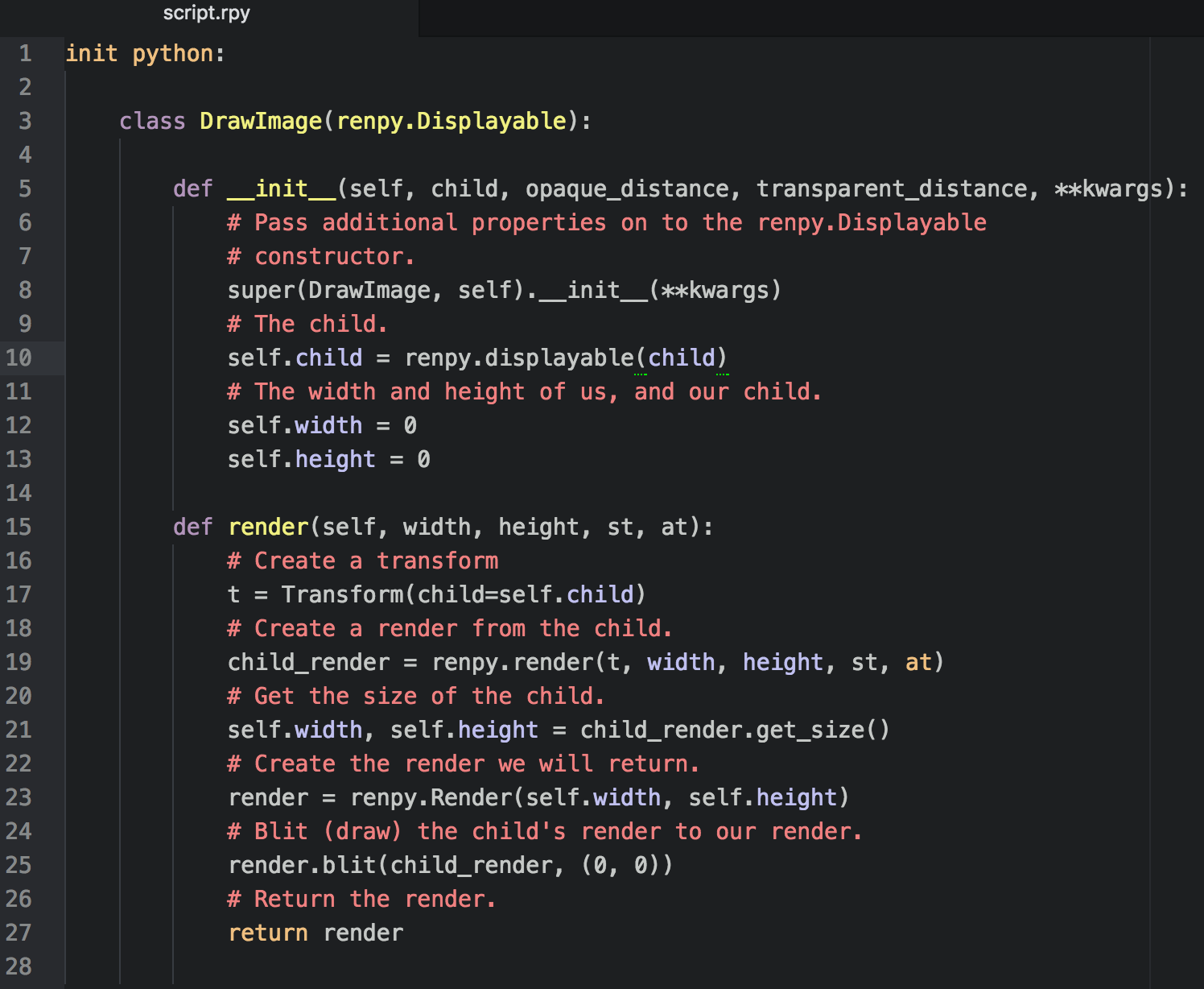 Ren'Py + Python: Part 3: User-Defined Displayables – Digital Ephemera