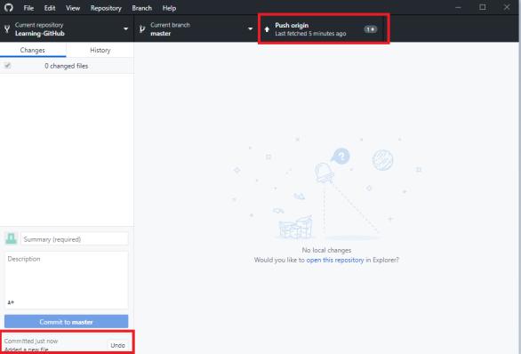4 - GitHub Desktop - Ready to Commit