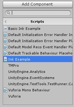 Unity + Ink: Part 3: Building an Interface – Digital Ephemera